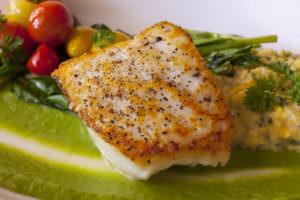 Le Bistro features fresh fish