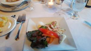 New England take on wedge salad